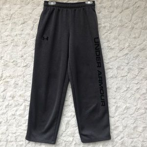 GUC Gray Under Armour  Training Pants Sz Y-MED